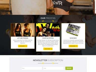 Fitness & Gym Website
