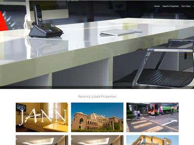JANNPROPERTIES - REAL ESTATE AGENCY WEBSITE