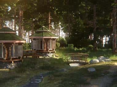 "Cottage settlement ""Emerald"""