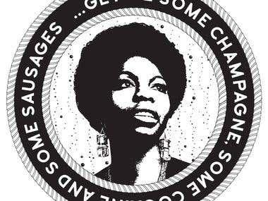 Nina simone badge
