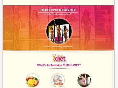 Contest Winning DESIGN for a Slimming Programme!