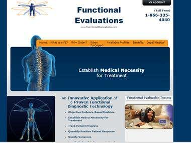 Professional Health Services (Functional Evaluations)