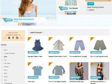 Store in Wordpress