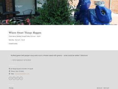 :  Bluebird Bakery And Cafe-Wordpress