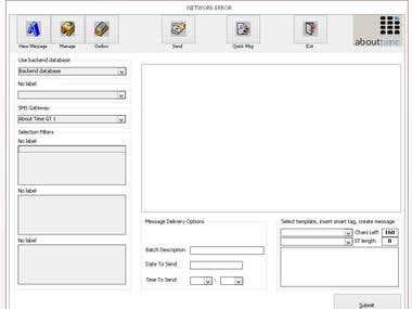 SMS bulk sender using SMS Gateway