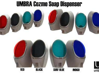 UMBRA Cozmo Soap Dispenser