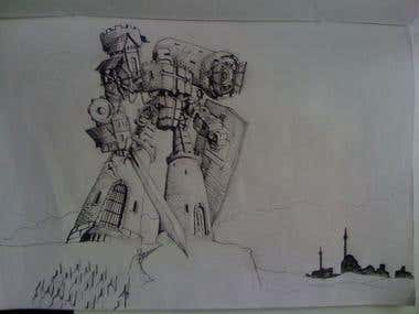 Templar castle transformer:)
