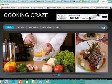 Cooking craze Based on Uk i
