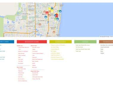 GEO Map Wordpress plugin