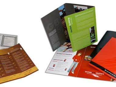 Folders and Leaflets