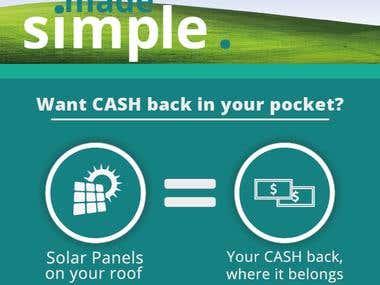Print Advertisement for Solar Energy