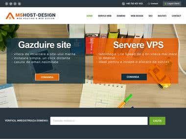 Web design. SEO
