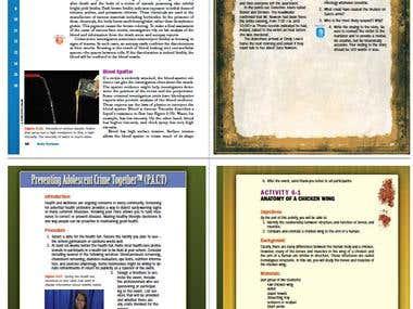 book designs and illustrator drawings