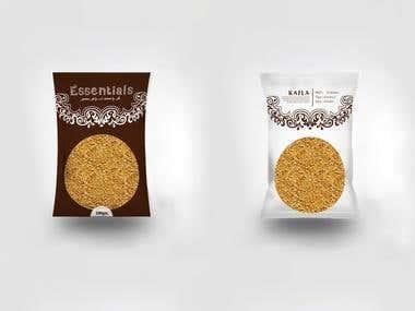Package Design For Kafla