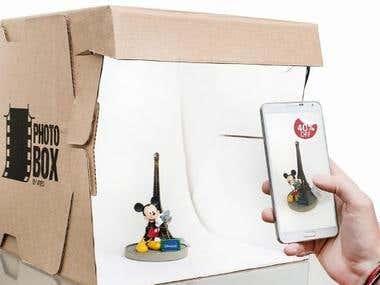 PhotoBox - Mini Photography Studio