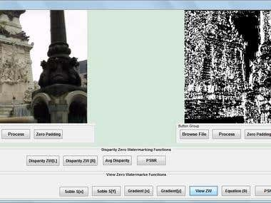 Digital Watermarking  of Stereoscopic Images