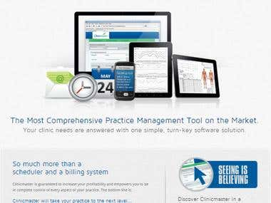 Clinic Management Website
