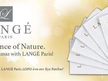 Design a Banner - LANGÉ WEBSITE BANNER 851x315