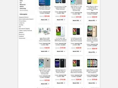 Cellular Country - ECommerce Website for Resell Mobile