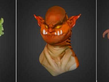 3D Modeling Samples