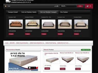 Joomla, Virtuemart, online shop