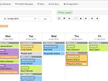 Employee Schedule Management