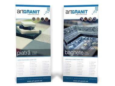Art Granit - Flyer design