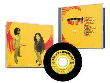 CD album package design - The LPs
