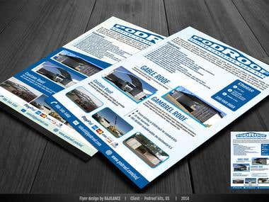 Product Data Sheet / Marketing flyer