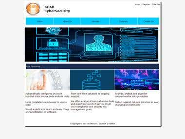 KPAB Inc. Cyber Security website