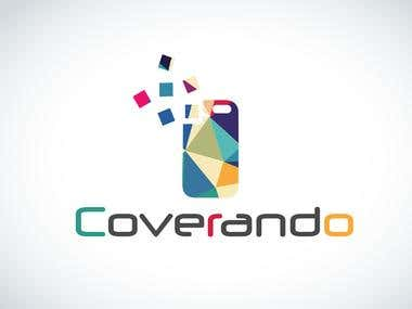 Coverando Logo Design