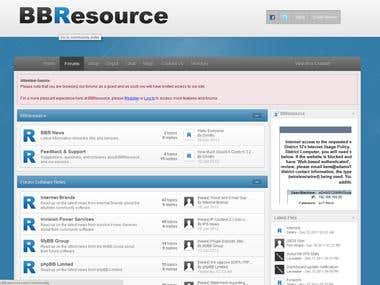 BBResource - Website