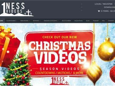E-Commerce , Responsive website