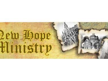 New Hope Minisyty Banner