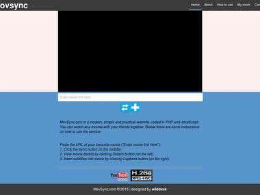Movsync.com website