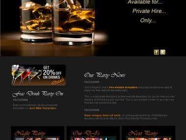 Unique Restaurant Website