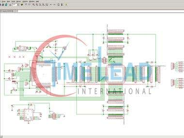 Schematic captures circuit design