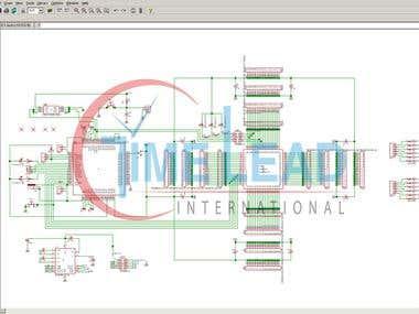 Schematic captures circuit design