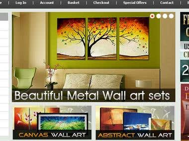 Canvas Wall art Store