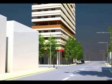 speed Arch Viz animation