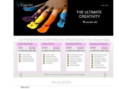 Logo company website