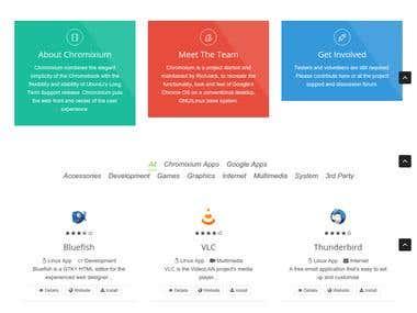 Chromixium Apps