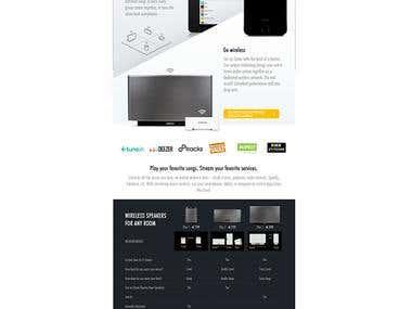 Sonos (Landing Page)