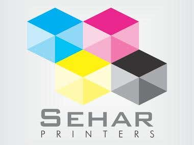 Logo for Printing Company