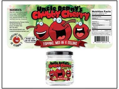 Chubby Cherry label