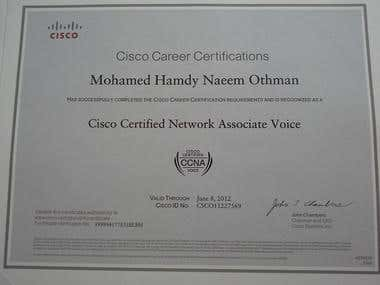 CCNA Voice Certified