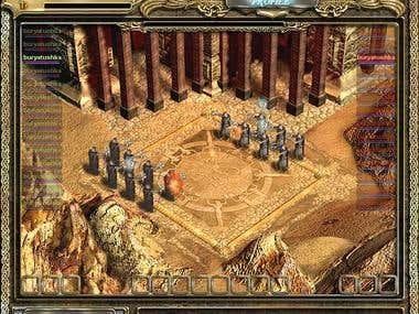 Osiris Tample Battlefield