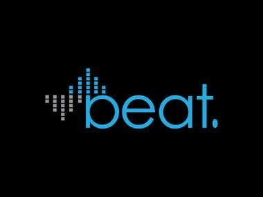 Design a Logo for music brand \'beat\'