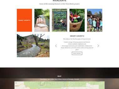 WordPress  - Site Rebuild - Warp 7