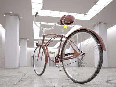 industrial design of bike